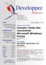 Couverture magazine juin 2005