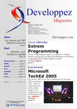 Couverture magazine juillet 2005
