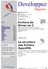 Couverture magazine f�vrier - mars 2007