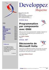 Couverture magazine février - mars 2008