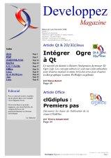 Couverture magazine août - septembre 2008