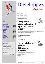 Couverture magazine f�vrier - mars 2009