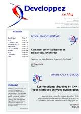 Couverture magazine f�vrier - mars 2010