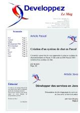 Couverture magazine août - septembre 2011