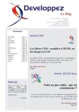 Couverture magazine décembre - janvier 2012/2013