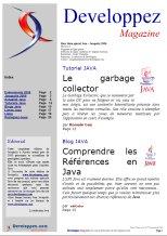 Couverture magazine Hors s�rie Java d�cembre 2006